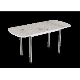 Стол раздвижной пластик Бискайская сосна
